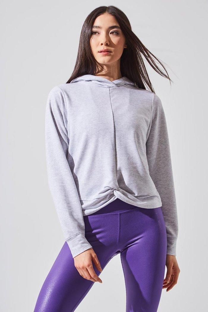 Enamor Recycled Polyester Relaxed Hoodie (Photo via MPG)