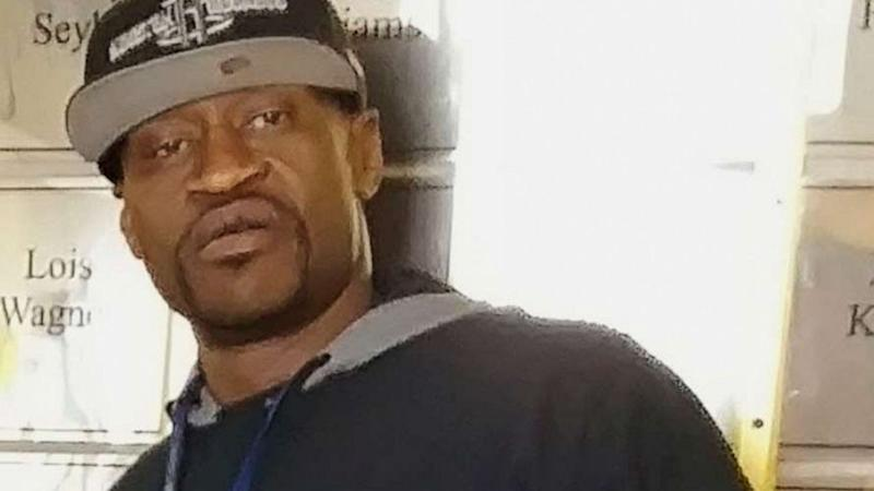 George Floyd, 46, is pictured.