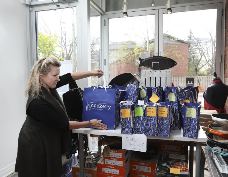 Since COVID-19 regulations were introduced, online sales have surged since non-essential retailers have been forced to shutter in-person operations. (Richard Lautens/Toronto Star via Getty Images)