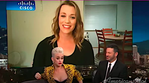 Katy Perry's Middle-School Friend Surprises Her On TV, Shares Some Priceless Memories