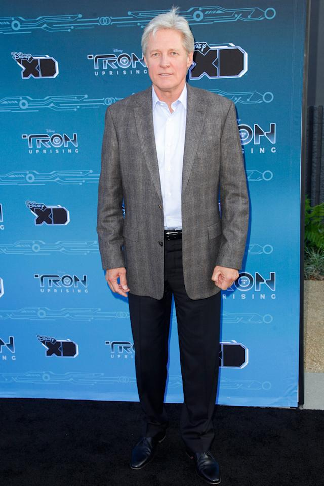 "Bruce Boxleitner attends Disney XD's ""TRON: Uprising"" Press Event snd Reception at DisneyToon Studios on May 12, 2012 in Glendale, California."