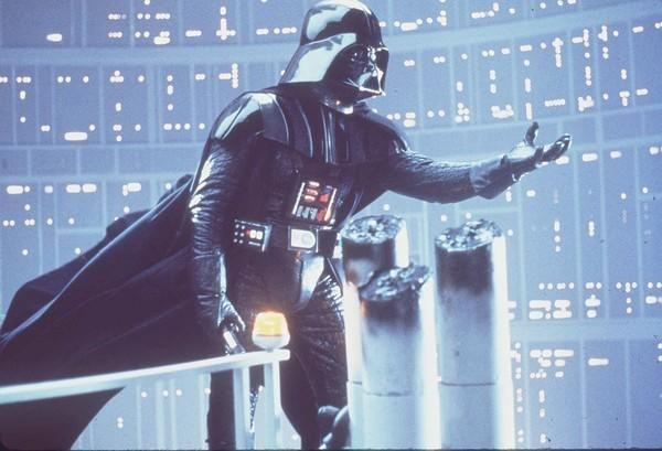 """Using """"Star Wars"""" villain Darth Vader, pictured here in """"Star Wars: Episode V — The Empire Strikes Back,"""" in a """"Real Men Wear Masks"""" PSA could be one way to get more guys to wear face coverings. <span class=""""copyright"""">(20th Century Fox)</span>"""