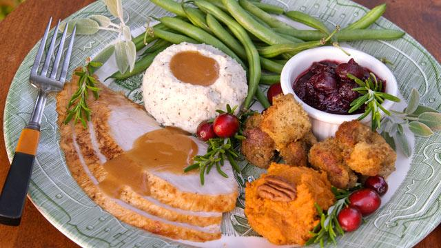 'Skinny' Thanksgiving Side Dishes and Tips