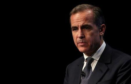 Bank of England Governor Mark Carney delivers the Liverpool John Moores University's Roscoe Lecture, at the BT Convention Centre in Liverpool