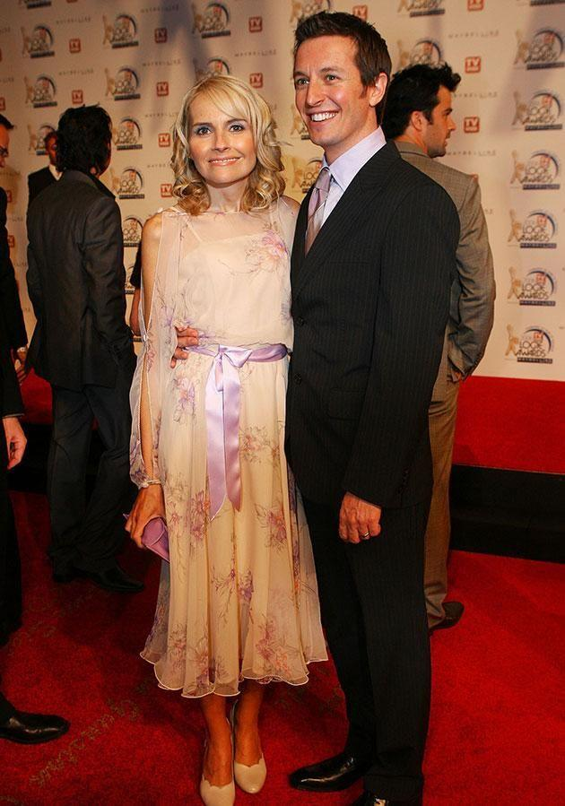 Rove and Belinda in 2006, just months before her death from breast cancer. Source: Getty