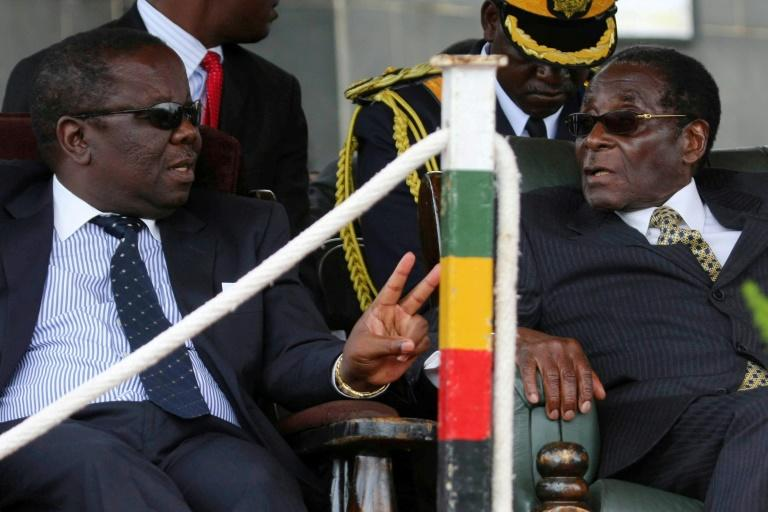 Morgan Tsvangirai participated in a power-sharing government with then-president Robert Mugabe after disputed 2008 elections, before moving into the opposition