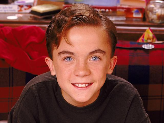 """Frankie Muniz as Malcolm from tv series """"Malcolm in the Middle"""""""