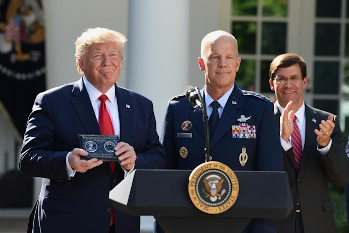 President Donald Trump and General John