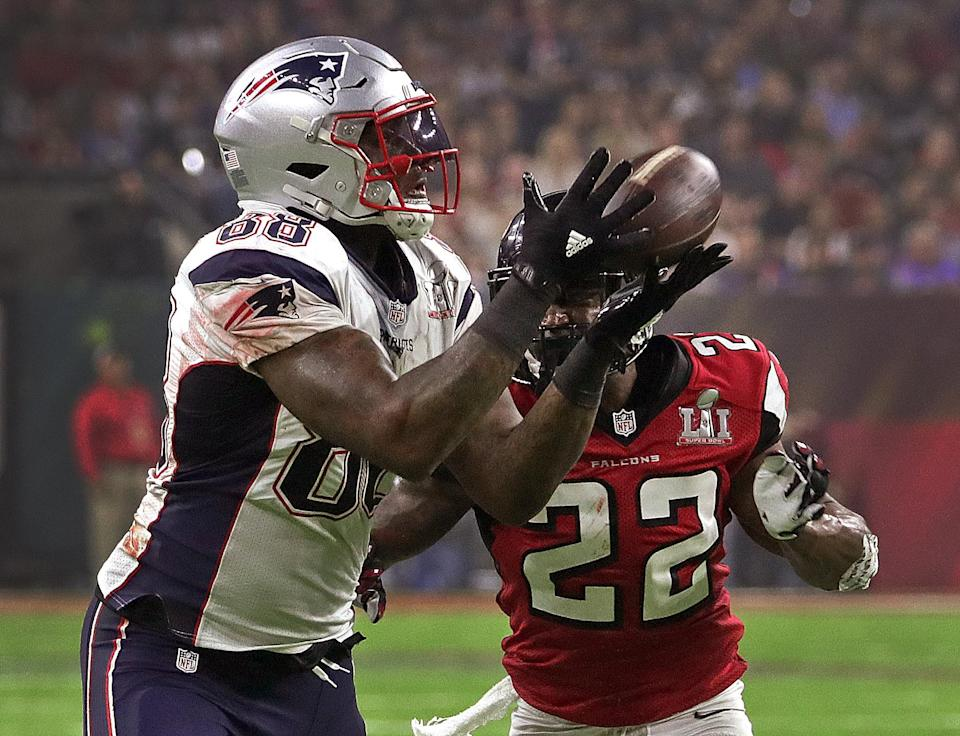 New England Patriots tight end Martellus Bennett doesn't plan to attend any Super Bowl celebration at the White House. (Getty Images)