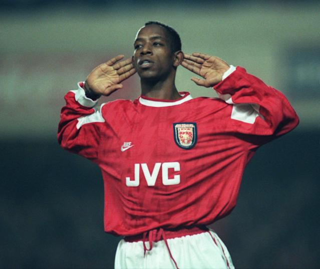 <p>Dominated the goal charts at Arsenal (104) for years before ending his top flight career with West Ham (9). </p>