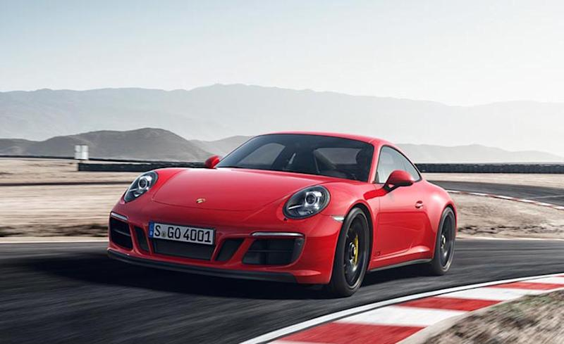 Porsche Updates 911 GTS Models with Turbo Power