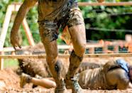 <p>Gather your team, organize your costumes, and get filthy at a mud run: popular options like Warrior Dash and Tough Mudder have obstacle courses throughout the year, including during the autumn. You'll challenge your personal limits and have a blast doing it.</p>