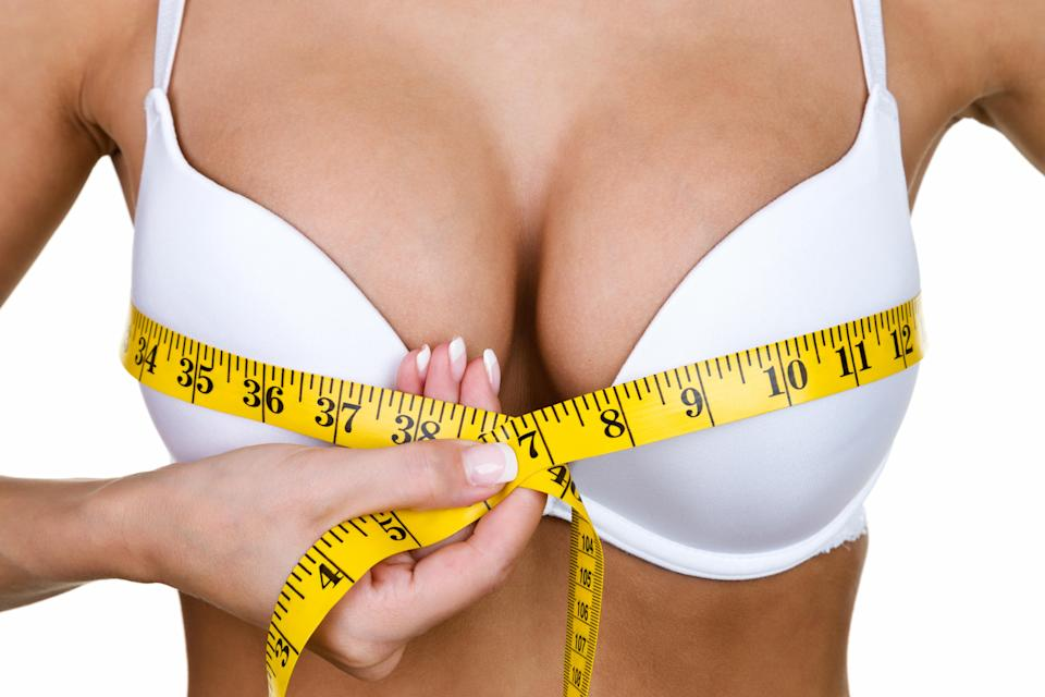 How easy is it to lose weight from your boobs? [Photo: Getty]