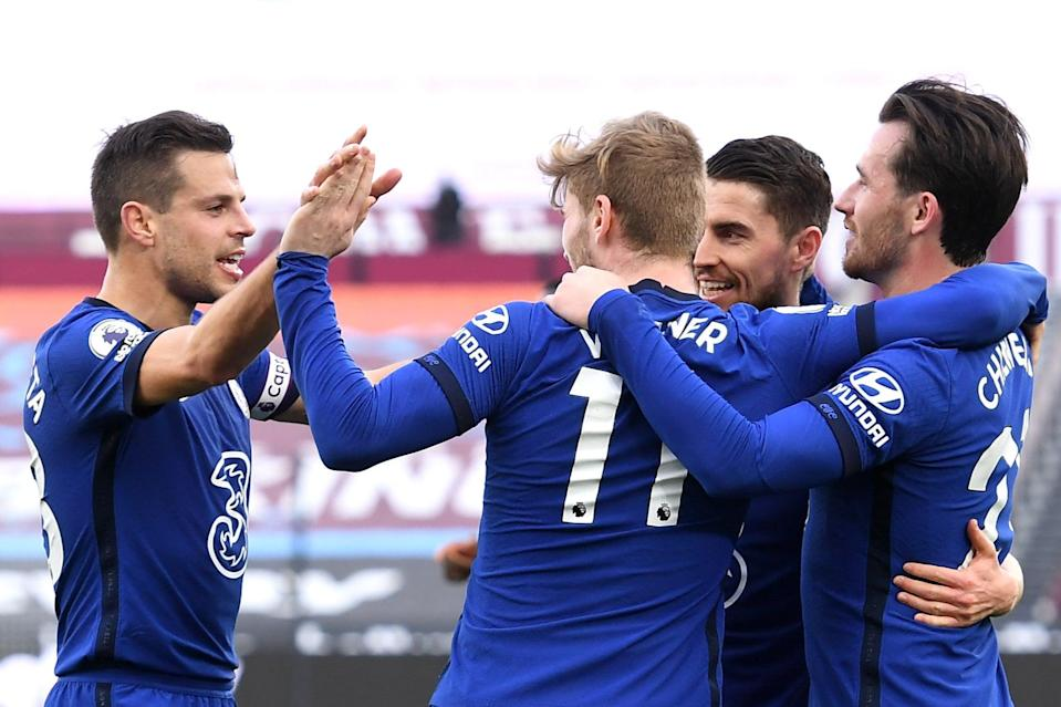 <p>Werner was back among the goals for Chelsea</p> (Getty Images)