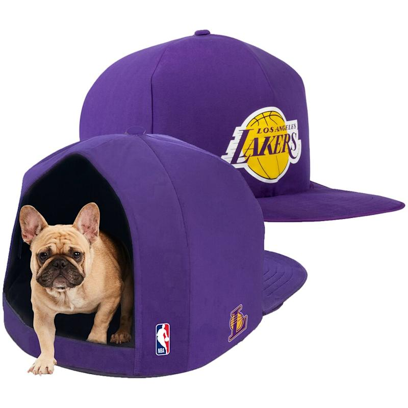 Lakers Plush Pet Nap Cap
