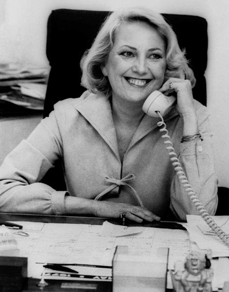 File-This May 1977 file photo shows Muriel F. Siebert, a then 47-year-old stock broker. Siebert, who started as a trainee on Wall Street and became the first woman to own a seat on the New York Stock Exchange, has died of complications of cancer at age 80. Siebert died Saturday Aug. 24, 2013 at Memorial Sloan-Kettering Cancer Center in New York. (AP Photo/Dave Pickoff, File)