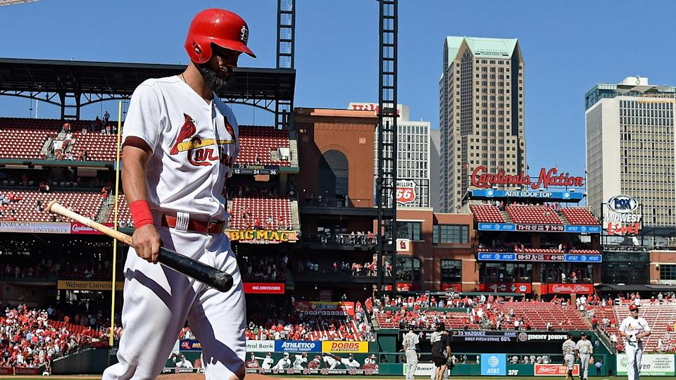 The Cardinals haven't been as hot in September as they were in August. (AP)