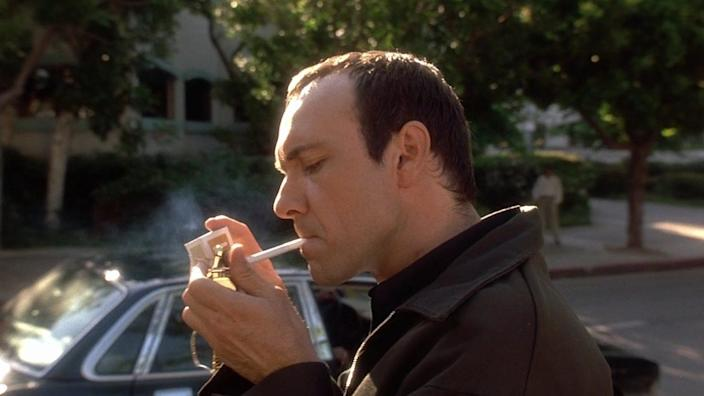 """Kevin Spacey in """"The Usual Suspects."""""""