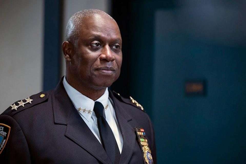"""Andre Braugher as Captain Raymond Holt in the series finale of """"Brooklyn Nine-Nine."""""""