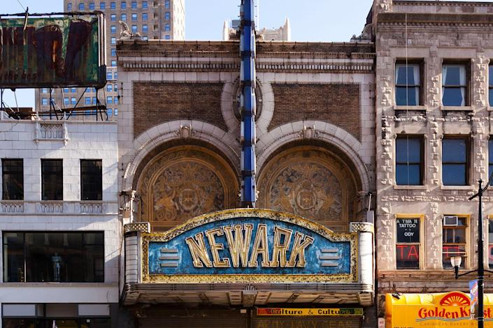 <p>Originally known as H.C. Miner's Newark Theater when it opened on Market Street in 1886, the opulent venue has remained eerily silent for almost 30 years. It may be on track for redevelopment as part of an ambitious plan to revitalize downtown Newark. (Photo: Matt Lambros/Caters News) </p>