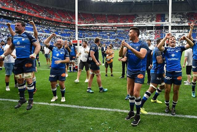 Castres held off Racing 92 to edge into the Top 14 final (AFP Photo/JEAN-PHILIPPE KSIAZEK)