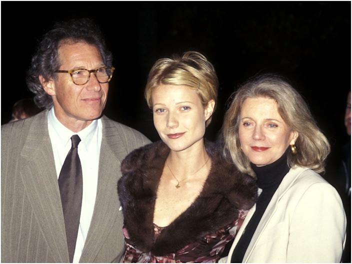 Bruce Paltrow, Gwyneth Paltrow, and Blythe Danner