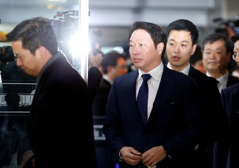 SK Group chairman's wife files for divorce - court records