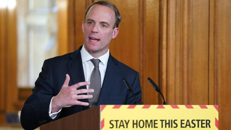 Raab fails to confirm whether NHS staff will receive pay rise