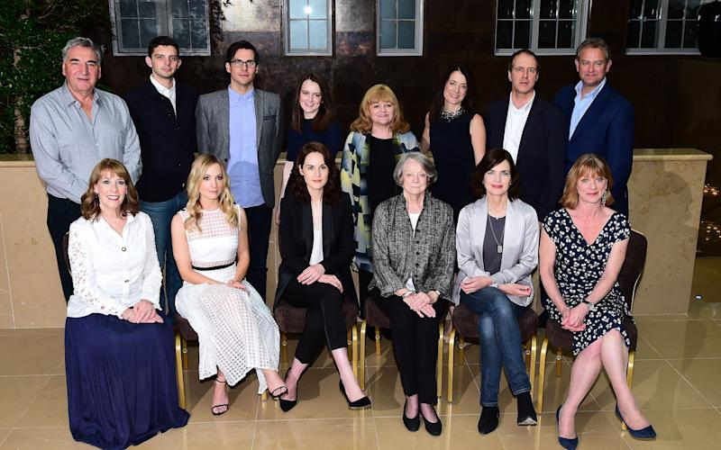 Downton Abbey cast - Credit: Ian West/PA