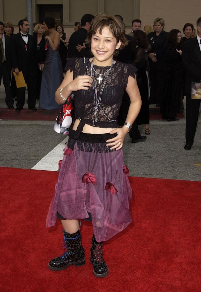 Lalaine during The 2002 ALMA Awards - Arrivals at The Shrine Auditorium in Los Angeles, California, United States. (Photo by SGranitz/WireImage)
