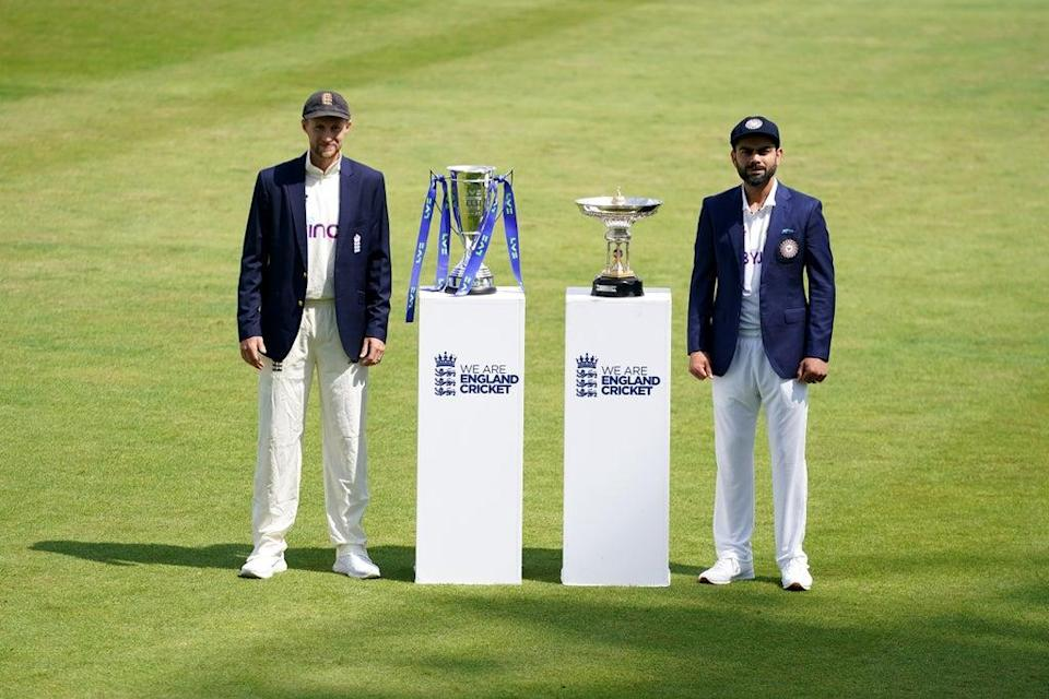 India captain Virat Kohli (right) and England counterpart Joe Root could face each other again next year if the fifth Test is rescheduled (Zac Goodwin/PA) (PA Wire)