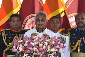 Gotabaya Rajapaksa sworn in as President of Sri Lanka