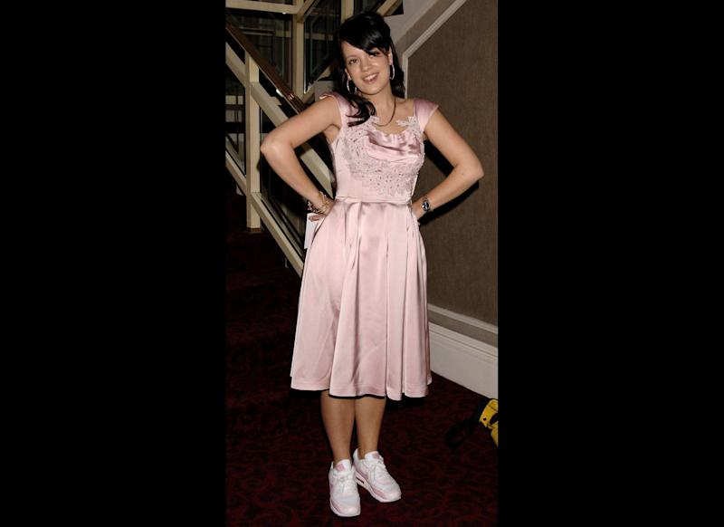 <strong>2006</strong> Lily arrives for the 51st Ivor Novello Awards