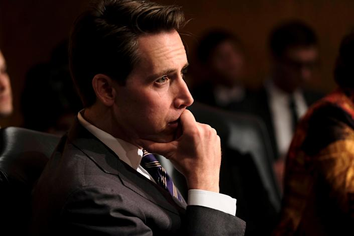 Sen. Josh Hawley. (Photo: James Lawler Duggan/Reuters)