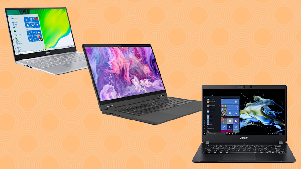 Ready for a next-level laptop? Take advantage of these crazy Prime Day deals. (Photo: Yahoo Life)