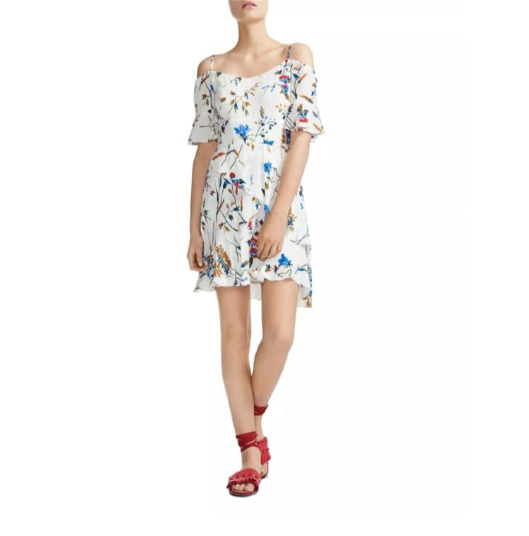 Rhina Floral Off-the-Shoulder Dress. (Photo: Bloomingdale's)