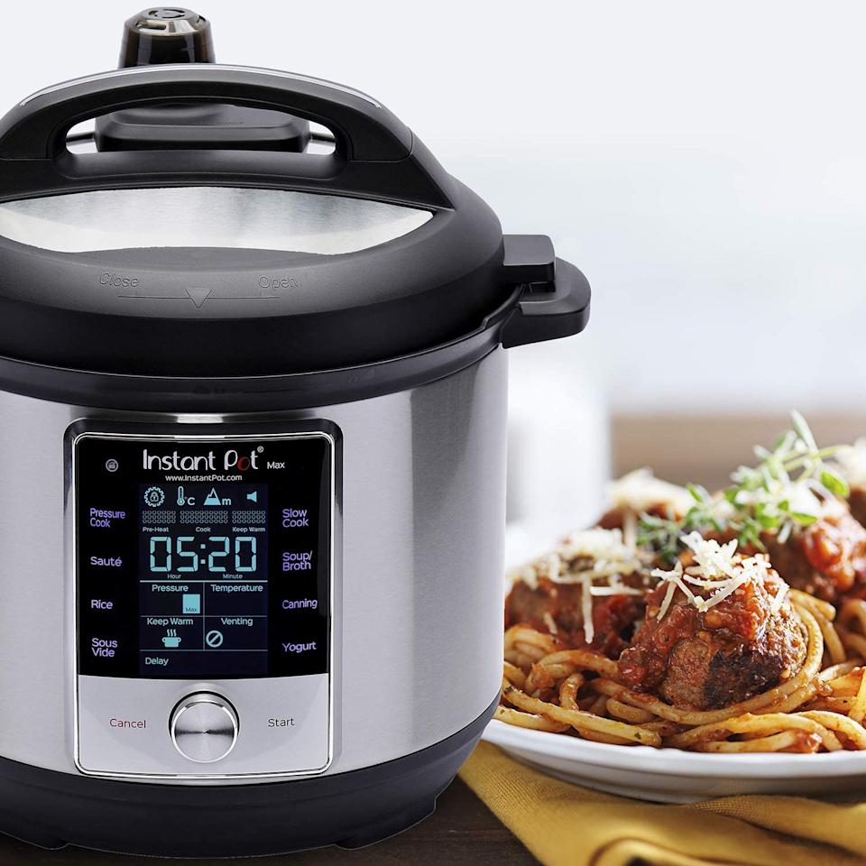 Instant Pot Max Pressure Cooker 9-in-1 (Photo: Amazon)