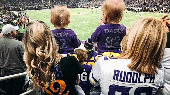 Courtesy of Kyle Rudolph