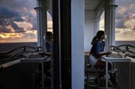 Tanya Mariano traded her Manila flat for an ocean-view apartment north of the Philippines capital, part of an exodus of digital workers attempting to escape virus restrictions and congested living conditions