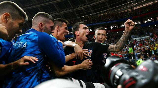 Croatia again fell behind, again went to extra time, and again emerged victorious to make history at the World Cup.