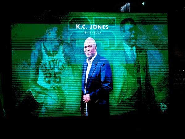 NBA team Boston Celtics legend KC Jones