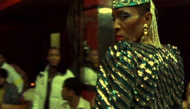 PHOTO: Pepper LaBeija is shown in this scene from the movie 'Paris Is Burning'. (Miramax)