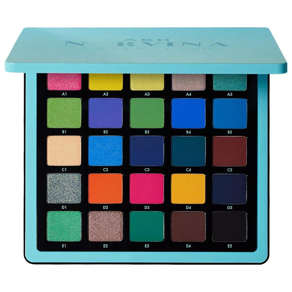 "<p>Help Virgo achieve perfection — at least when it comes to their eye makeup — with this colorful eyeshadow palette. The range of colors is as dynamic as this earth sign's personality. </p> <p><strong>$60</strong> (<a href=""https://www.sephora.com/product/norvina-pro-pigment-palette-vol-2-P450845?icid2=products%20grid:p450845"" rel=""nofollow"" target=""_blank"">Shop Now</a>)</p>"