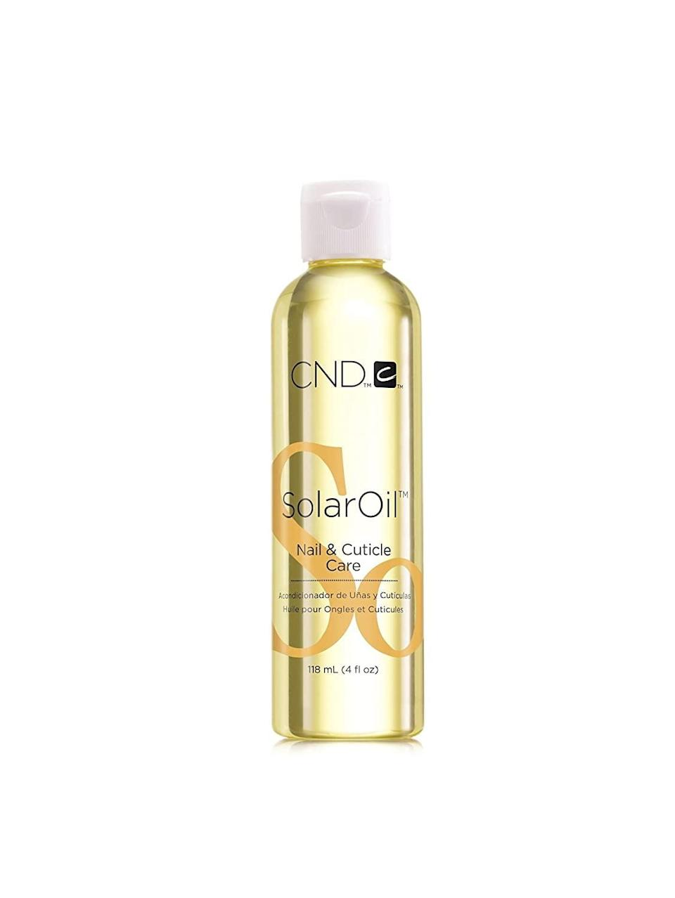 <p>Care for your nails and cuticles with this <span>CND SolarOil Nail &amp; Cuticle Care</span> ($35, originally $50). It's perfect for those who's hands get extra dry during the colder months. </p>