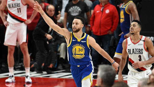 The Golden State Warriors continue to make history after reaching the NBA Finals again on Monday.