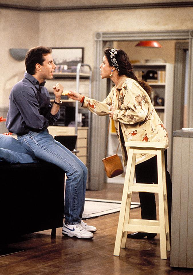 <p>Jerry clearly won the argument in these these wavy-soled Nikes.</p>