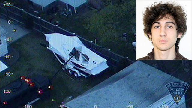 'F***' America,' Boston Marathon Bomb Suspect Wrote in Boat: Officials