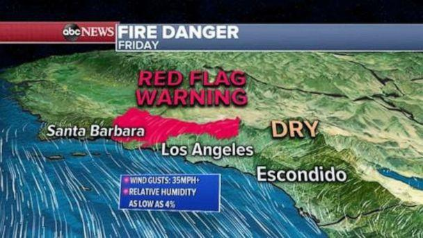 PHOTO: Fire danger (ABC News)