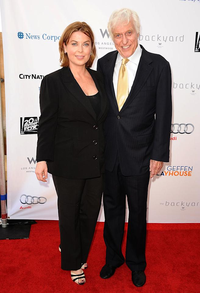 LOS ANGELES, CA - JUNE 04:  Actor Dick Van Dyke (R) and wife Arlene Silver attend the Backstage at The Geffen fundraiser at Geffen Playhouse on June 4, 2012 in Los Angeles, California.  (Photo by Jason LaVeris/FilmMagic)