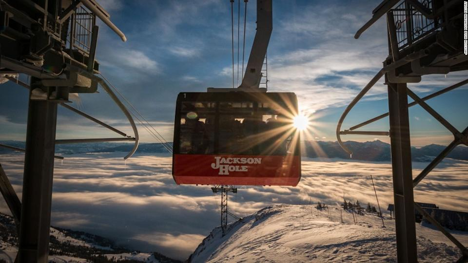 "<p>At 12,662 meters, the Jackson Hole tram is the largest vertical of any ski resort in the United States. </p><div class=""cnn--image__credit""><em><small>Credit: Jackson Hole Mountain Resort / CNN</small></em></div>"